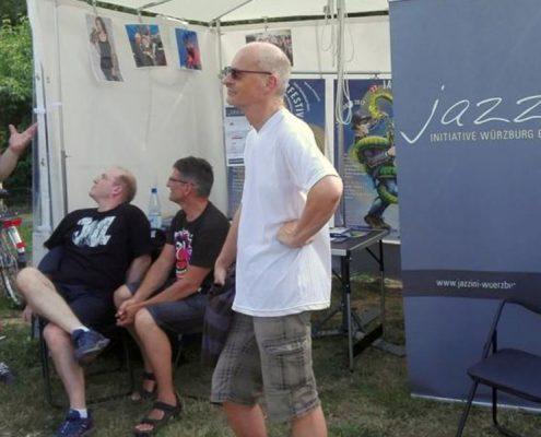 Jazzini-Infostand auf dem U&D2017 (Foto: Jörg Meister)