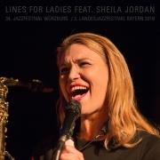 34. Jazzfestival Würzburg 2018 / 3. Landesjazzfestival Bayern 2018 –Lines for Ladies feat. Sheila Jordan