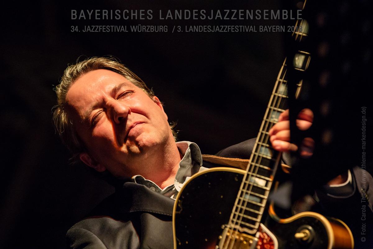 34. Jazzfestival Würzburg / 3. Landesjazzfestival Bayern 2018 –Bayerisches Landesjazzensemble
